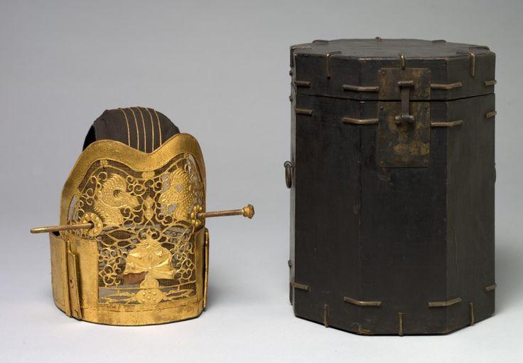 Crown for the Royal Ceremonial Costume (Yanggwan)