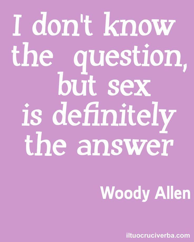 Quotes. Woody Allen