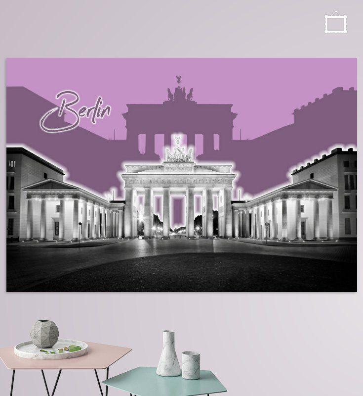 BERLIN Brandenburger Tor   Graphic Art   lila von Melanie Viola  #wandbild #wohnen #kaufen #Fotografie #Sehenswürdigkeiten #Ort #Wahrzeichen #Architektur #Reise #Europa #Berlin #Deutschland #Kunst #Grafikkunst #dekorativ #BrandenburgerTor #digitalart #home #decor #shopping #wallart #prints #photography #sights #landmarks #city #cityscape #architecture #travelling #shopping #Germany #Europe #art #graphicart #modern #decorative #BrandenburgGate #popart