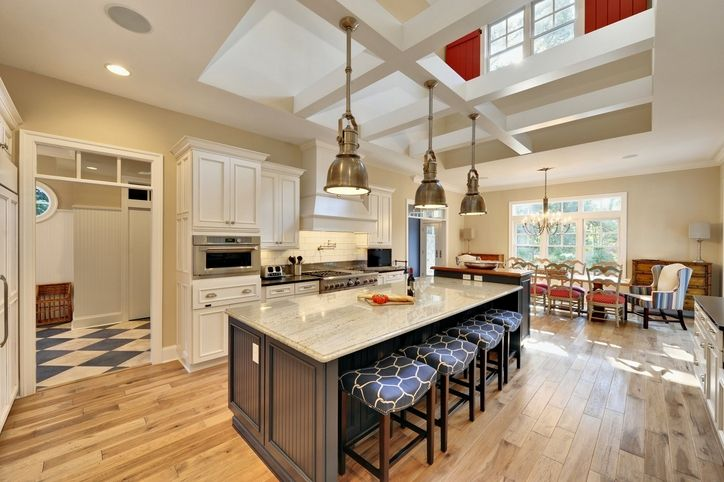 155 best kitchen islands with wood countertops images on for Columbia flooring chatham