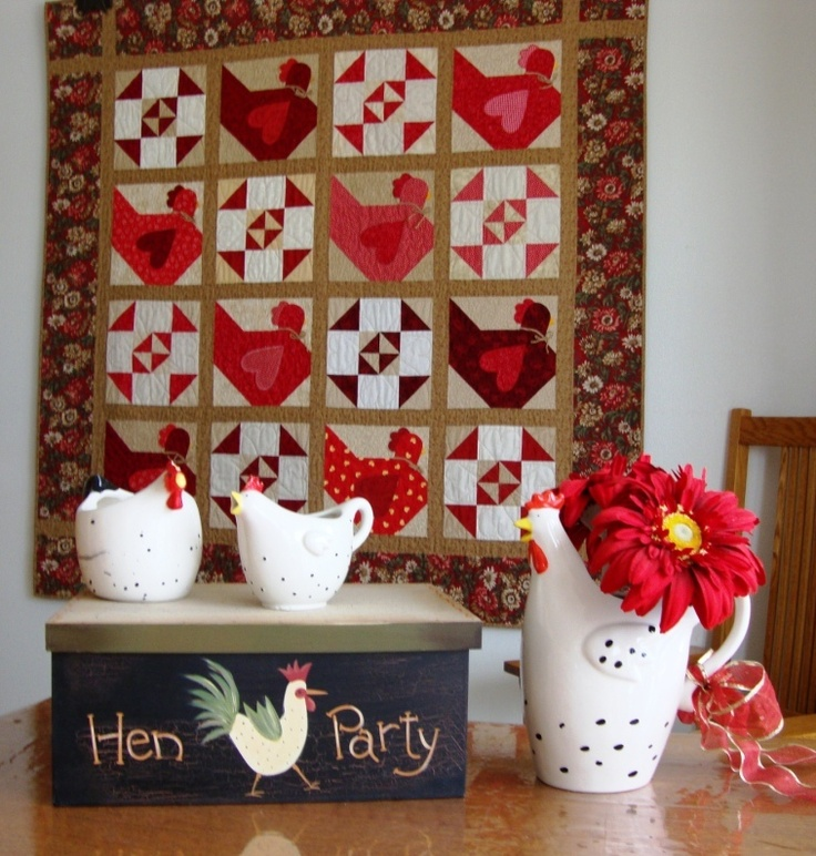 /////: Ceramic Roosters, Things Chicken, Quilted Roosters, Chicks, Chicken Crazy That S