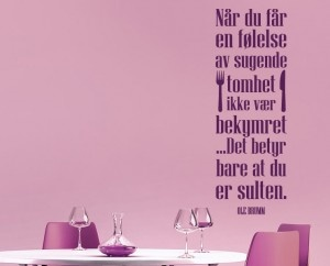 Sugende tomhet - Ole Brumm