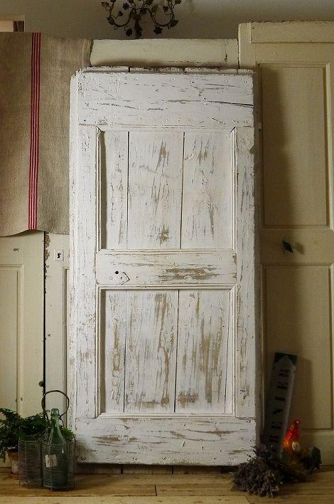 アンティーク プロヴァンスのドア(リペイント) オ・ボール・ドゥ・ロー