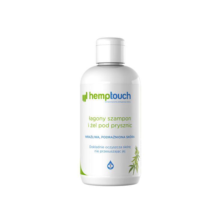 Łagodny szampon i żel pod prysznic 250ml