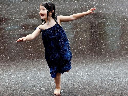 A vida é feita de banhos de chuva e incertezas