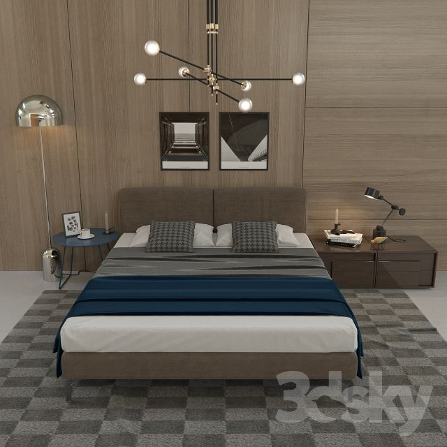 3d Models: Bed   Novamobili Margot