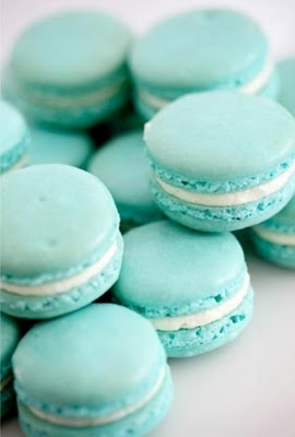 blue marshmellow cookies