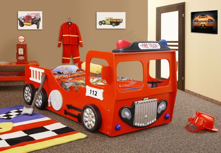 Fire Truck Bed | Red