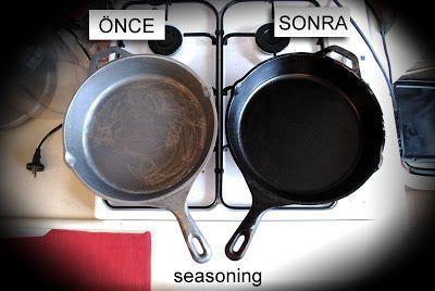 Dökme Demir (Cast Iron) ızgara TAVA (ve Tencere) - Bekar Adam'ın Yeraltı Mutfağı