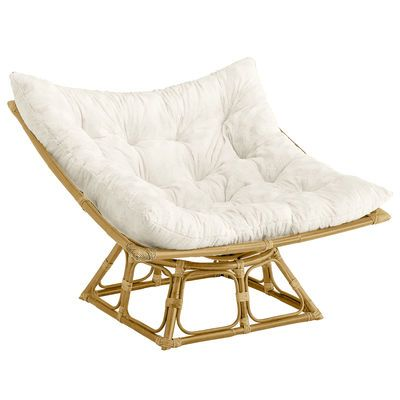 From the folks who brought you the first Papasan Chair back in 1961 (in other words, us), now comes the Pier 1 Squareasan. Using the same sturdy, hand-bent rattan frame and classic base-&-bowl design, the Squaresan has its own custom-shaped cushions so it's just as comfy, too. It's everything you love about the original—but with a fresh, new angle. The Pier 1 Squareasan. Papasan, squared.