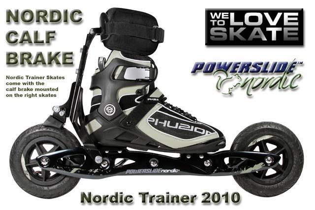 POWERSLIDE - Nordic Trainer Calf Brake - www.skiroll.it