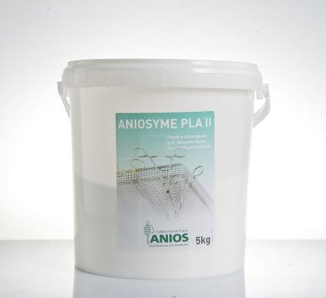 Aniosyme PLA II Trójenzymatyczny preparat w postaci proszku do manualnej i maszynowej dezynfekcji i mycia zanieczyszczonych narzędzi chirurgicznych, endoskopów i innych wyrobów medycznych.