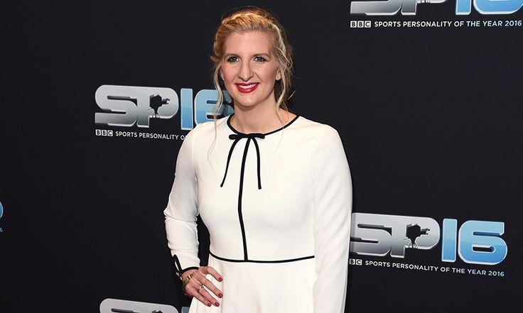 Former Olympic swimmer Rebecca Adlington has shared a cute photograph of herself with her 'TV husband' Mark Foster, with whom she co-presented the Rio Olympics