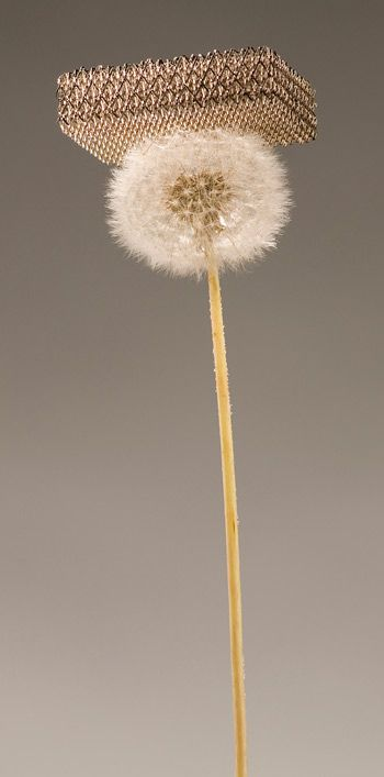 In November researchers showed off the lightest material ever created...