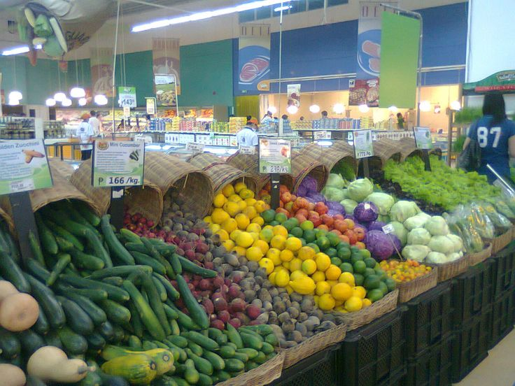 Waterfall Fruit And Veggie Displays: ShopperStalker: SPOTTED: Fresh Produce Display @ SM