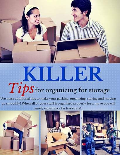 Tips for Organizing Your Stuff For Storage: http://www.maxrealestateexposure.com/tips-for-organizing-your-stuff-for-storage/  #realestate