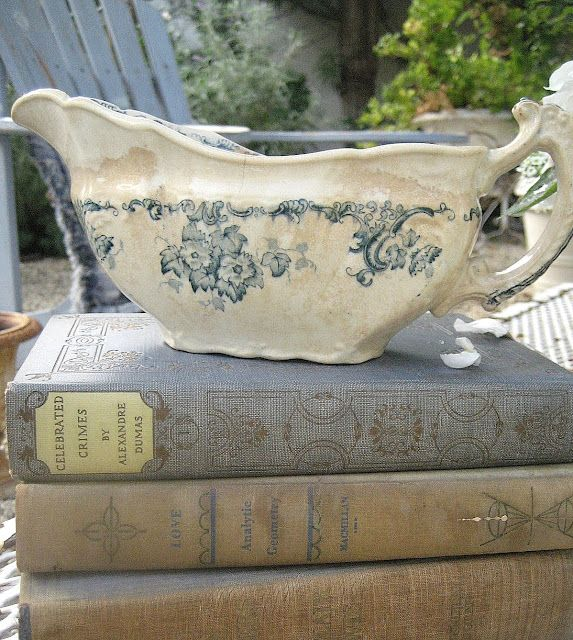 I'm collecting cool old books to do something like this....ok, also because I am addicted to cool old books.
