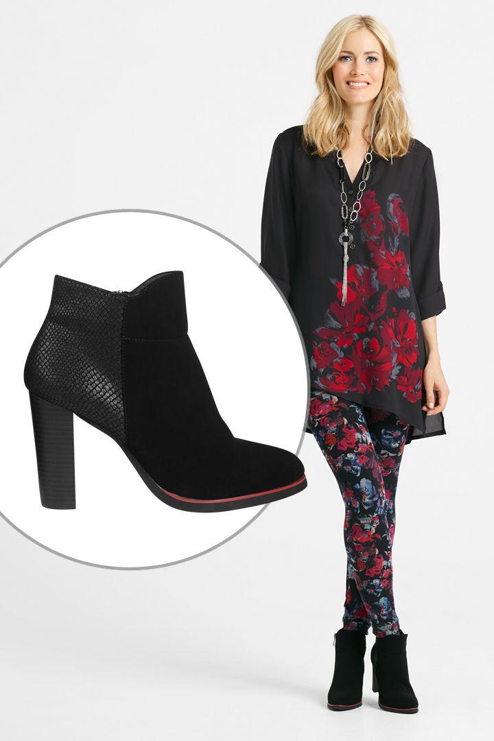 Cette botte est parfaite avec un pantalon de type legging #botte #talon