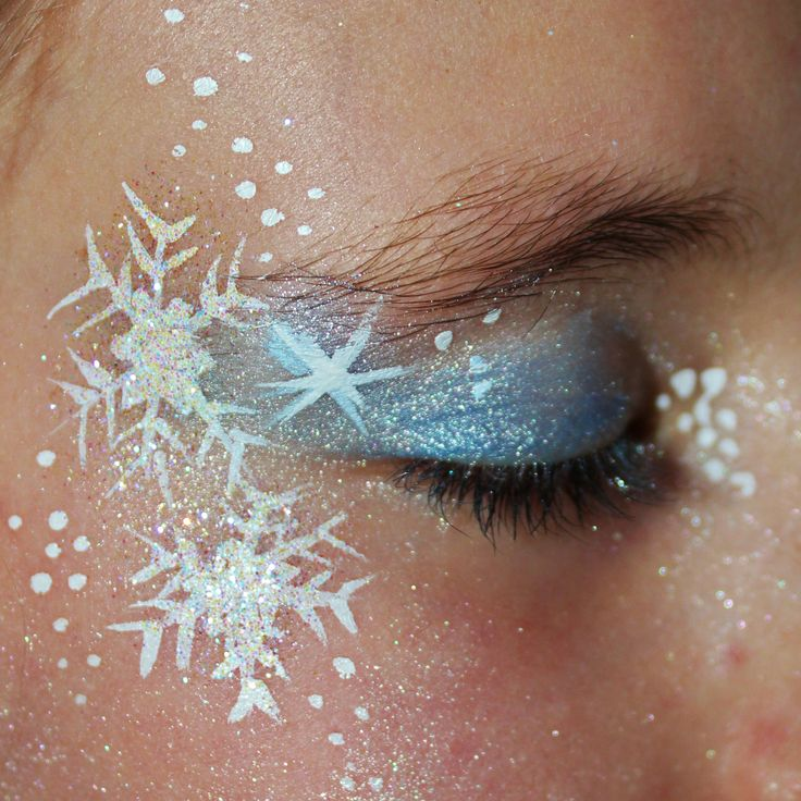 Frozen make up - YC Art