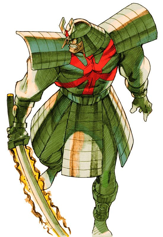 Silver Samurai (Daredevil) (marvel vs. capcom)