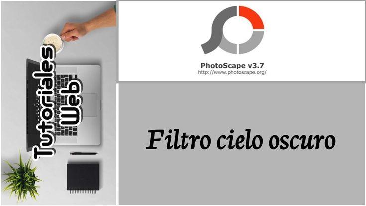 PhotoScape 2017 - Filtro cielo oscuro (español) https://youtu.be/BDE0-JC1nQk