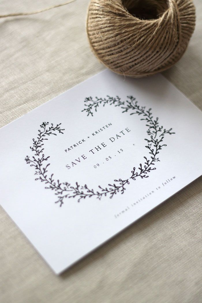 Just My Type Wedding Invitation & Wedding Stationery Design NZ} Gold, wreath,  watercolour modern wedding