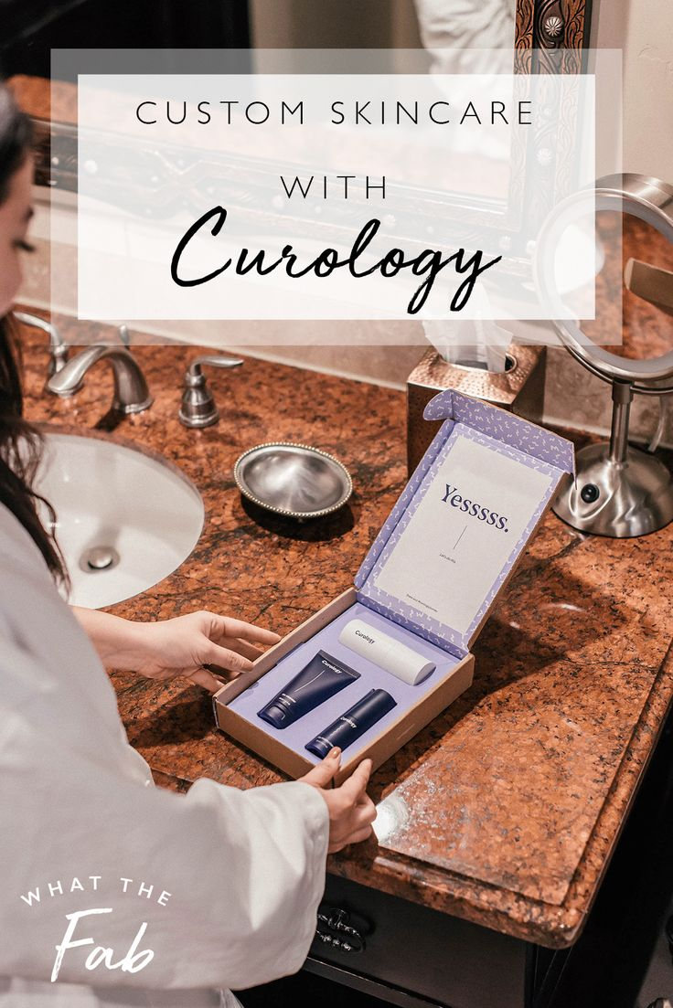 Custom skincare with Curology in 2020 Skin care kit