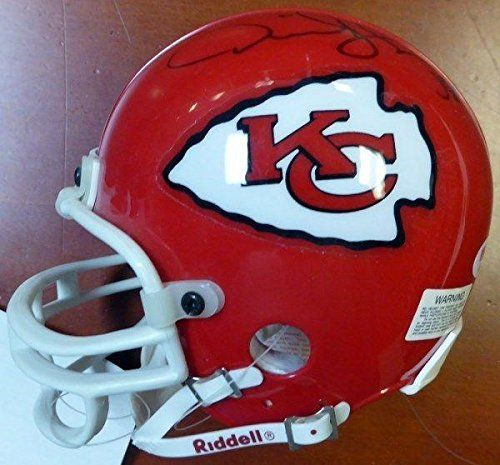 Signed Derrick Thomas Mini Helmet - PSA/DNA Certified - Autographed NFL Mini Helmets >>> Check out this great product.