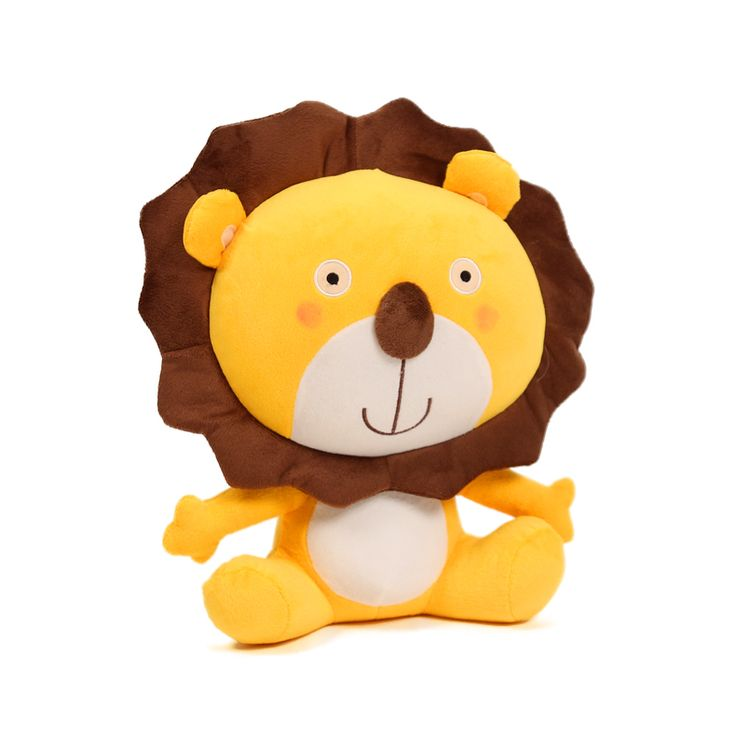 Holiday sale 40cm special cute anime cartoon smile lover Lion King hold pillow plush animal stuffed toy funny birthday gift 1 pc