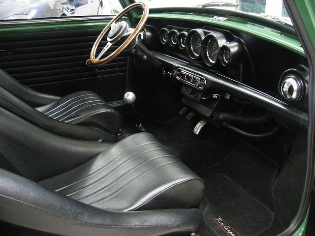 Mini Cooper Innocenti 1300 (1973) LHD.