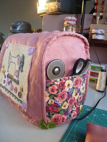 Capa para máquina de costura.