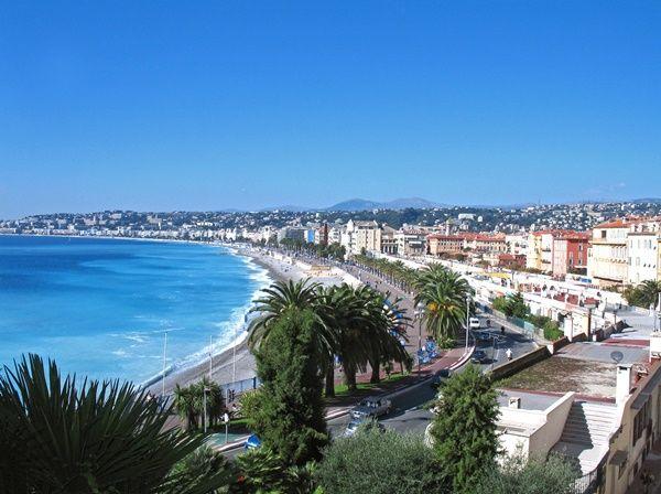 Piękne widoku we Francji