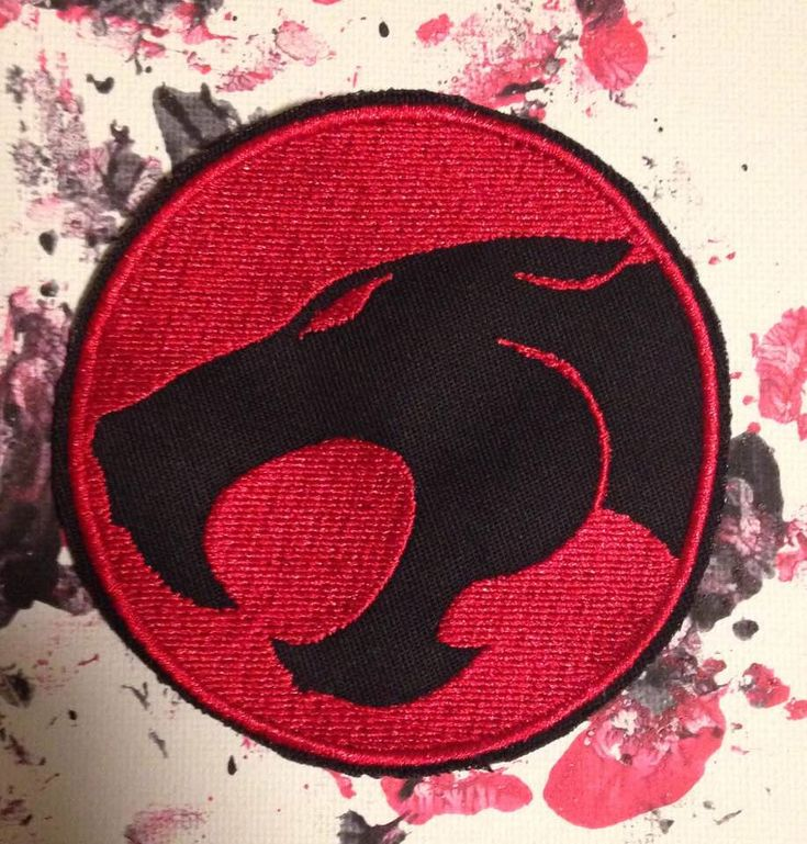 A personal favorite from my Etsy shop https://www.etsy.com/listing/479097468/thundercats-patch-lion-o-panthro-mumra