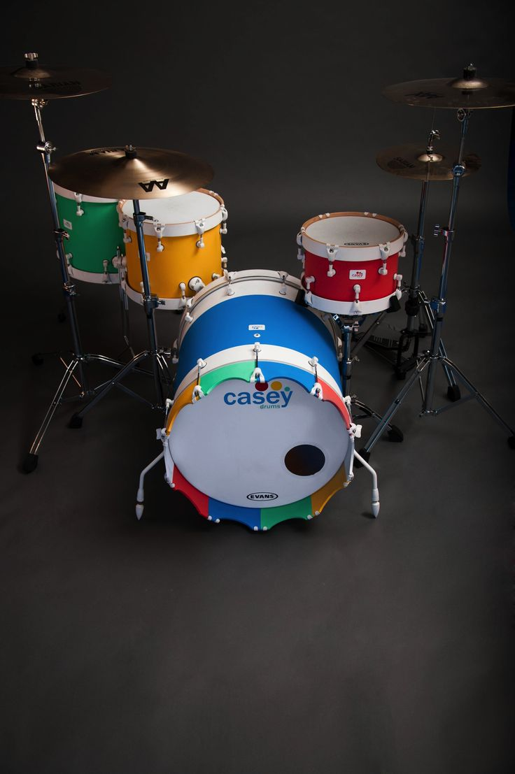 Best Drums Images On Pinterest Drum Sets Music And Musical - Putting paint on a drum kit creates an explosive rainbow