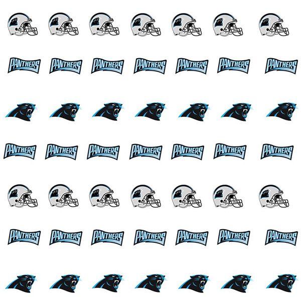 Carolina Panthers Nail Stickers