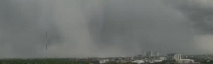 Microburst rain bomb Columbus Ohio