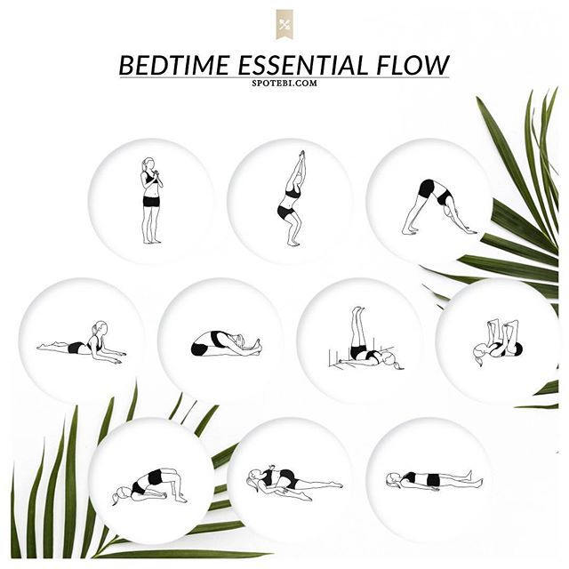 Put on your coziest PJs, grab a cup of chamomile tea and unwind with our bedtime essential flow!!!