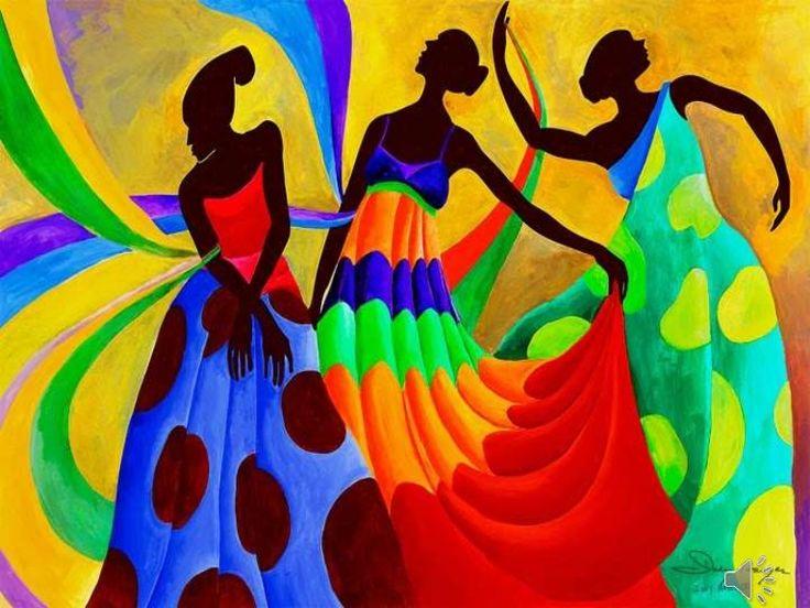 Caribbean Art #Culture #Diversity Via Artist: Ivey Hayes #SemCaribe