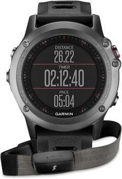 Garmin Умные часы Garmin 010-01338-11. Коллекция Fenix 3  — 48690 руб. —  Fenix 3 представляет собой прочные, функциональные и умные спортивные часы мультиспорт с GPS-приемником. Стальная антенна EXO с поддержкой спутников GPS + GLONASS для быстрого приема сигналов и точного расчета местоположения. Во время движения прибор записывает трек GPS в виде точек. Возможность отмечать различные местоположения, например, стартовую линию, контрольную точку, место стоянки, интересный объект и т.д. С…