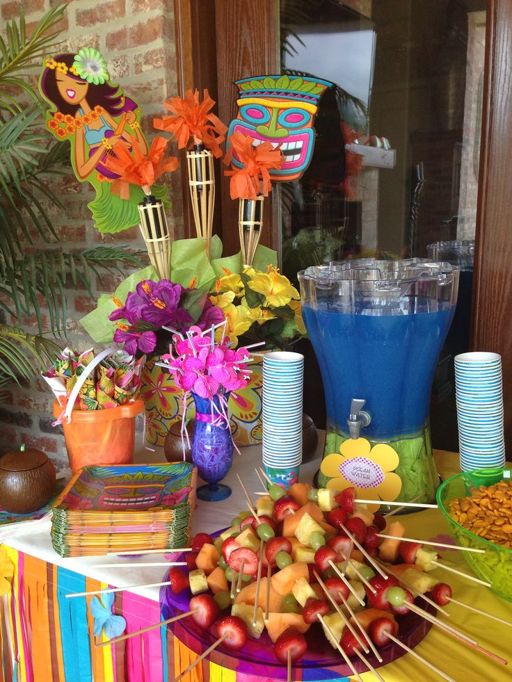 38 Best Luau Pool Party Images On Pinterest Luau Party