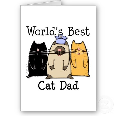 7 best happy fathers day images on pinterest dads fathers and shop worlds best cat dad card created by blessingartanimals find this pin and more on happy fathers day sciox Gallery