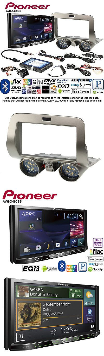 Video In-Dash Units w o GPS: Pioneer Avh-X490bs Double Din Dvd Cd Player Car Radio Install Mount Kit -> BUY IT NOW ONLY: $619.95 on eBay!