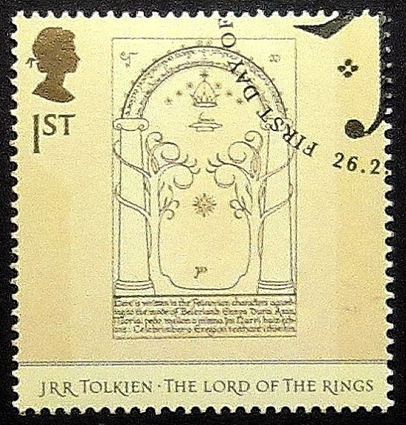 JRR Tolkien de Lord Of The Rings UK-handgemaakte ingelijst