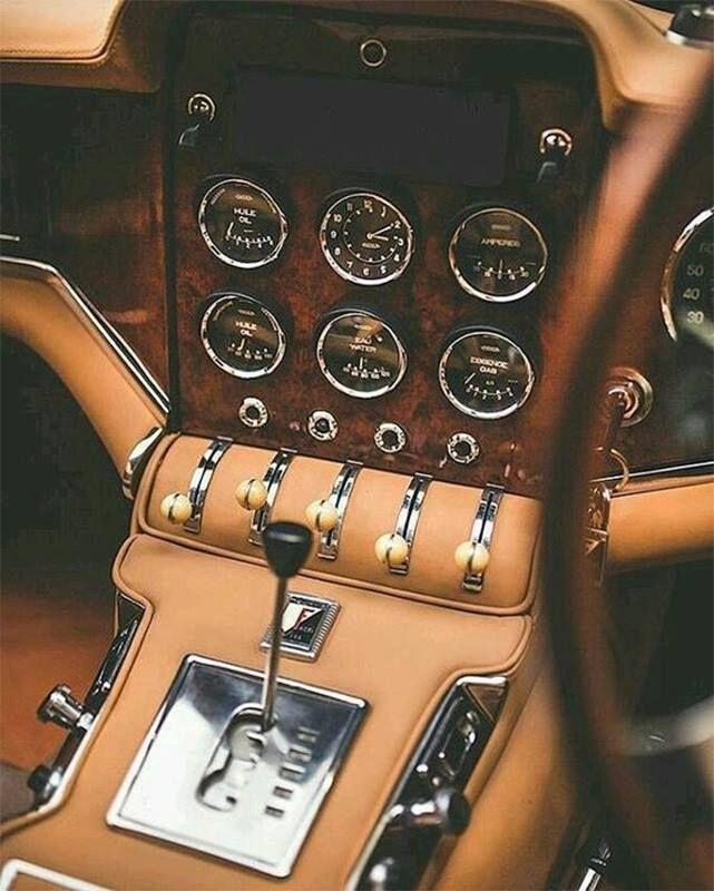 Facel Vega HK2 Interior Euer Arnd von der AutoErlebniswelt-Tü Taunus