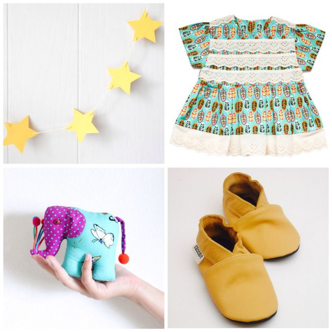 Great Gift Ideas for a Boho Baby. Blog Post with details