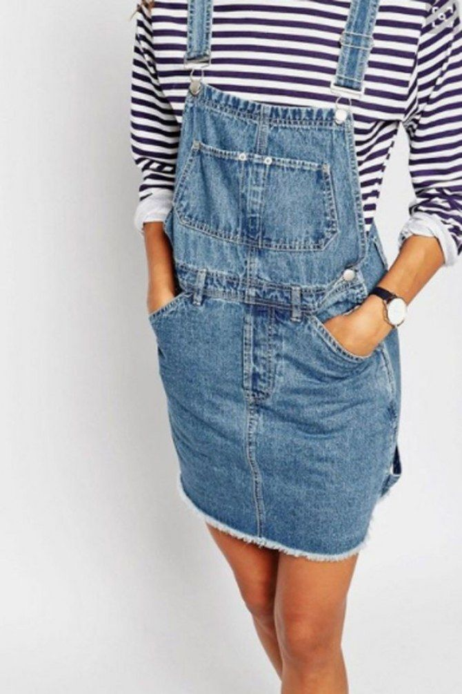 Keep it classic in stripes and dungarees