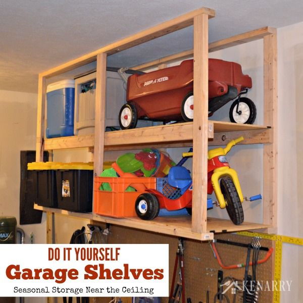 Do It Yourself Storage Ideas 520 best organize the garage images on pinterest | garage storage