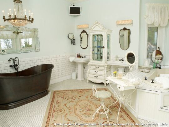 600 best shabby chic 1 images on pinterest french - Habitaciones vintage chic ...