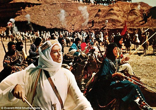 O'Toole was the center of several drinking scandals while filming for Lawrence of Arabia (...