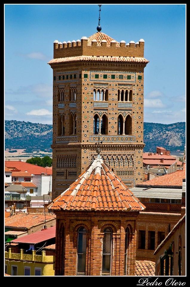 TERUEL(España)  TORRE MUDÉJAR (Patrimonio de la Humanidad)  foto Pedro Otero